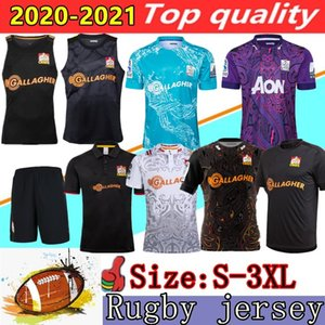 jerseys chefes venda por atacado-Novo chefe Super Rugby Jerseys Home League Camisa Rugby Jersey Zealand Chief Tee Tee Singlet Rugby Camisas