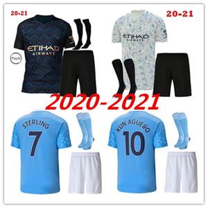 20 21 DE BRUYNE soccer jersey 2020 2021 man STERLING football shirt manchester KUN AGUERO DE BRUYNE GESUS BERNARDO MAHREZ soccer jersey