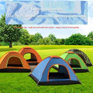 Wholesale tent camp resale online - Automatic Up Camping Tent Person Multiple Models Easy Open Outdoor Family Camp Tents Ultralight Instant Shade