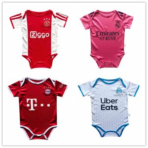 bebek bebek formaları toptan satış-20 football soccer jersey kids baby infant boy designer clothes diaper bags diaper bag strollers new born Japan Argentina Netherlands Spain Brazil Liverpool Arsenal