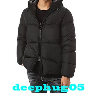 Fashion new winter down jacket High quality men's short down jacket 90% white duck down Size xs-xl
