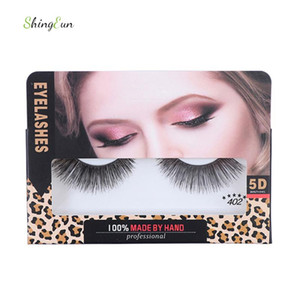Wholesale false eyelashes human hair for sale - Group buy 5D Human Hair Natural False Eyelashes Handmade Lashes Extension Eyelash for Beauty Makeup