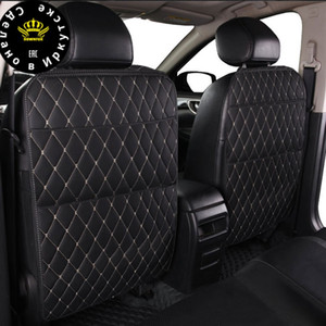 Wholesale car accessories business resale online - Universal Car Seat Back Protector Cover pc Organizer Tablet Stand Hanging Bag Styling Storage Holder Kick Mat Car Accessories CX200822