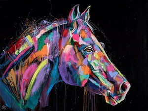 Wholesale beautiful pictures for sale - Group buy Jennifer Hogwood Bright and Beautiful Equine Home Decor Handpainted HD Print Oil Painting On Canvas Wall Art Canvas Pictures