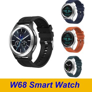 Wholesale control definition for sale - Group buy W68 Men Bluetoot Sport Smartwatch High Definition IPS Screen Support Call Heart Rate Monitor W68 Smart Watch Bracelet
