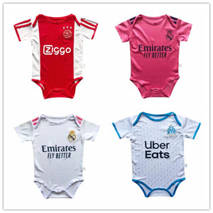 çocuk rompers toptan satış-20 football soccer jersey kids baby infant boy designer clothes diaper bags diaper bag strollers new born Japan France Argentina Netherlands Spain Brazil Portugal