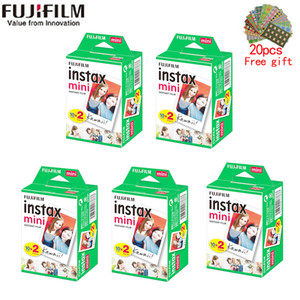 Wholesale instax cameras resale online - 10 sheets instax mini film white Edge Inch wide film for Instant Camera mini s s Photo paper