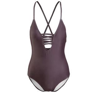 Bandage Designer Swimsuits Padded Push Up Women One-piece Swimwear Outdoor Beach Swimming Travel Vacation Must Swimsuits Free Shipping