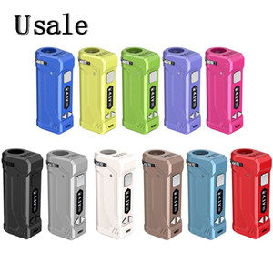 11 Colors Yocan UNI Pro Box Mod 650mAh 10s Preheat VV Variable Volta Adjustable Height and Diameter Holder Fit All Atomizer 100% Original