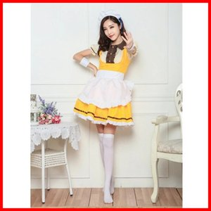Wholesale bird outfits resale online - JhgrB Nicole lovelive pastry maid outfit Hui Pastry costume cos afternoon tea series bird Zhen Ji bmaNI Xi maid Li animation outfit