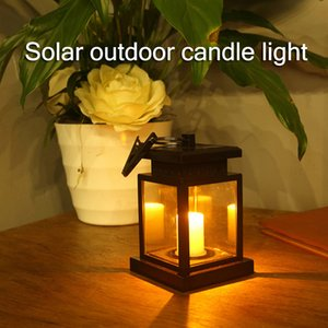 Wholesale solar lights table lamp for sale - Group buy Newly Garden Solar Powered LED Candle Lantern Hanging Table Light Outdoor Decor Lamp XSD88