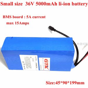 Wholesale smallest portable charger resale online - 36v Ah mah li ion S1P Lithium battery portable light weight small size power Amps A BMS v A Charger