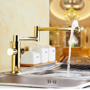 Wholesale foldable sink for sale - Group buy Rotating Foldable Basin Faucet Brass Bathroom Faucet Luxury Sink Heightened Water Tap Bathroom Sink