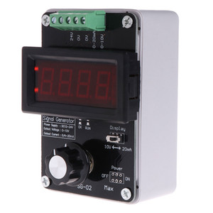 Analog DC 0-10V 0-20mA Signal Generator Current Voltage Signal Simulator Adjustable Accurate 4-20mA Transmitter Signal Calibrator Module