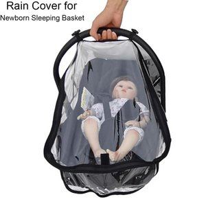 Wholesale rain cover for car for sale - Group buy Compatible Rain Cover Weather Shield Plastic Clear Netting Raincoat For Newborn Sleeping Basket and Baby Car Seat