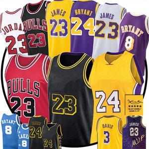NCAA 23 Michael LeBron Los James LakersMens jersey Anthony MJ 33Bryant ChicagoBull Men kids Davis Basketball Jersey