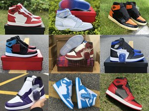 Wholesale hi basketball shoes resale online - SHATTERED BACKBOARD Sneakers Game Royal Court Purple Hi Varsity Red CHICAGO CRYSTAL OG WMNS UNC To Chicago Mens Basketball Shoes