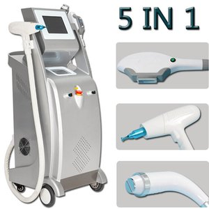 2020 multifunction ipl laser hair removal nd yag laser tattoo removal machine rf face lift elight opt shr ipl