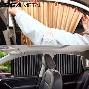 Wholesale cars sunshade resale online - Car Side Window Sunshade Cover UV Protection Car Window Curtain Summer Sunshade Protector Auto Sun Shades Accessories