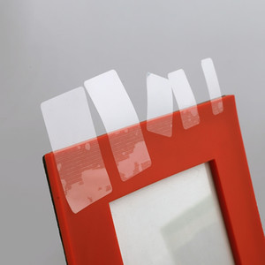 Wholesale transparent label stickers resale online - 30 mmx3000pcs Clear Rectangle Adhesive Label Sticker Transparent PVC Label Sealing Paste For Gift Box Sealing Paste