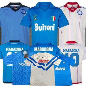 Retro classic 1987 1988 1989 1991 1992 1993 Napoli soccer jersey 87 88 89 91 93 MARADONA football Sports shirt S-2XL