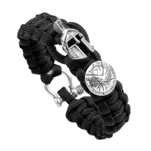 Wholesale umbrella rope bracelet for sale - Group buy 1 piece Emergency Use Outdoor Survival Camping Men s Bracelet Umbrella Rope Bracelet Luxury Handmade Rope Bracelet Ladies Jewelry