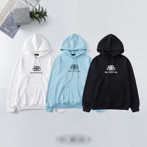 2020 Luxury Men's Hoodie Men's and Women's Letter Print Hoodie Sweatshirt Casual Hoodie Pullover Long Sleeve Size M-XXL