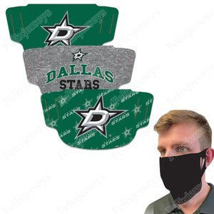 Wholesale dallas mask for sale - Group buy Dallas Stars WinCraft Adult Face Covering Pack Dust Wind UV Sun Neck Gaiter Tube Headwear Motorcycle Cycling Riding Running Headba