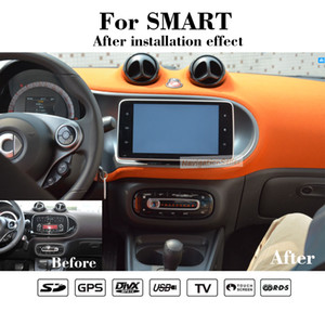 Android10.0 64G storage 1024*600 9INCH touch HD screen Car dvd GPS Navigation for Smart Fortwo 2015 2016 with BT WIFI Mirror Link Maps