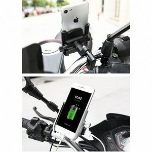 Wholesale quad lock resale online - Phone Holder Motorcycle Phone Charger Support Telephone Moto Quad Lock for SAMSUNG VIVO Lenovo NOKIA HONOR bRT