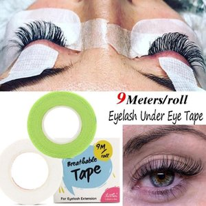 Wholesale eyelashes lifting resale online - 9M Roll Grafted Eyelash Tape Breathable Prevent Allergy Eyelash Extension Lifting Under Eye Patch Eye Pad Color