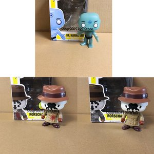 Wholesale pop figures resale online - WATCHMEN RORSCHACH DR MANHATTAN POP with box Model Figure Collectible Model Toy for gift LJ200924