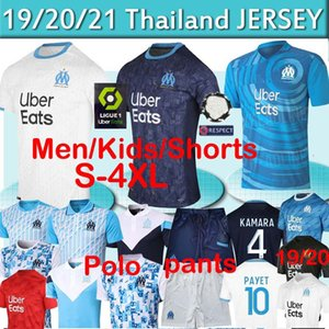 Olympique De Marseille soccer jersey OM jerseys maillot de foot PAYET THAUVIN 120 years football shirt 120th anniversary 19 20 21 thai 4xl