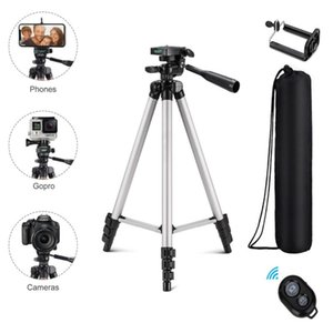 Wholesale smartphone tripod stand resale online - Bluetooth Tripod Aluminum Video Stabilization For Mobile Dslr Camera Adjustable Profesional Smartphone Laser Level Stand