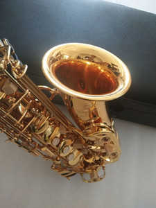 New Best quality Golden Alto saxophone YAS-875EX Japan Brand Alto saxophone E-Flat music instrument With Mouthpiece