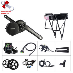 BAFANG BBS01B 36V 250W EBIKE Mid Drive Crank Motor Conversion Kit With 36V 20AH Rear Rack Battery Electric Bicycle Middle Engine Components