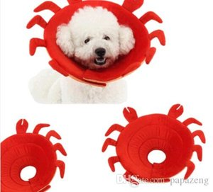 Wholesale crab rings resale online - Wholesales Crab Recovery Elizabethan Collar pet Anti Biting Ring Collars Protectivecollar
