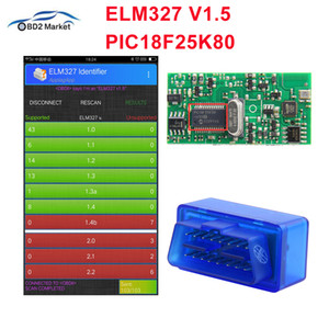 Wholesale elm327 adapter for sale - Group buy ELM327 V1 Bluetooth PIC18F25K80 V1 OBD2 Scanner Diagnostic adapter MINI ELM OBD OBDII Code reader scan tool