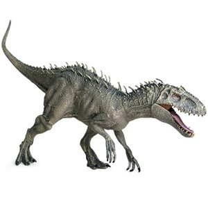 Plastic Jurassic Indominus Rex Action Figures Open Mouth Dinosaur World Animals Model Kid Toy Gift Toys For Children Gifts #30 LJ200922