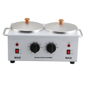 Wholesale wax warming for sale - Group buy Professional Wax Warmer Hair Removal Electric Double Wax Pot Heater