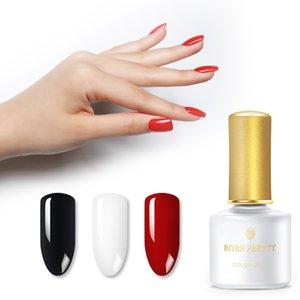 BORN PRETTY 6ml Basic Series Pure Color Nail Gel Soak Off