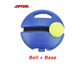 Wholesale tennis ball training resale online - Heavy Duty Tennis Training Tool Exercise Tennis Ball Sport Self study Rebound Ball With Tennis Trainer Baseboard Sparring Device