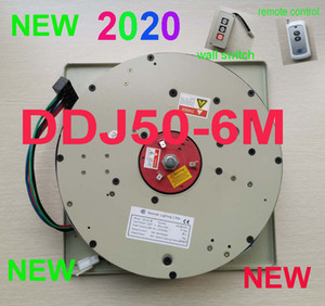 DDJ50-6M Wall Switch+Remote Controlled Lighting Lifter Chandelier Hoist Lamp Winch Light Lifting 110 V-120 V, 220 V-240v