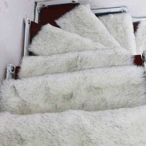Wholesale step rugs for sale - Group buy 13PCS Faux Wool Rug Stair Treads Mats Rectangle Non slip Rugs Staircase Pads Stepping Carpet Bbz1