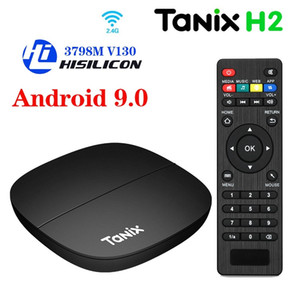 Tanix H1 H2 Android 9.0 TV Box 2GB 16GB Hisilicon Hi3798M V110 2.4G Wifi 4K Media Player X96Q T95 TV Box
