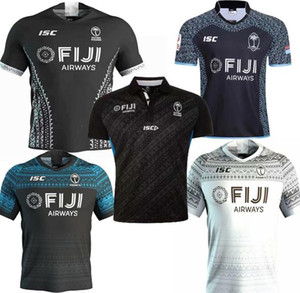 Wholesale thailand yellow shirts resale online - new Rugby jersey Sevens Olympic Shirt thailand quality19 fiji National s Rugby Jersey S XL