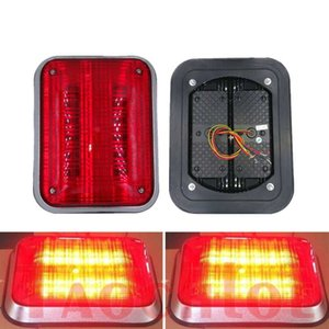 ingrosso ha condotto la croce infiammante-1Pc V V LED Flash Light For Fire Truck ambulanza Garitta Crossing stroboscopiche lampeggianti luci dell automobile