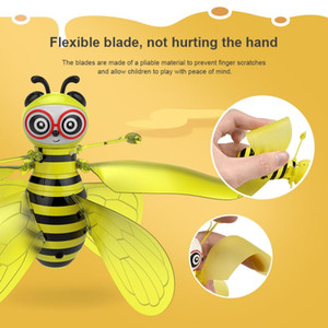 Wholesale children toys girl resale online - Children toy mini bee induction drone remote control plane model high quality toy gift both boy and girl