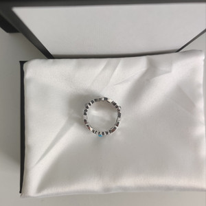 New Products S925 Sterling Silver Ring Top Quality Charm Ring High Quality Ring Couple Jewelry Supply