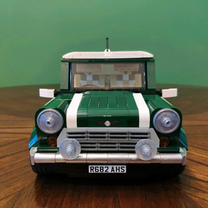 ingrosso mini coopers-Free Shopping Creator Expert Mini Cooper MK VII Compatibile con Building Blocks Bricks Bricks Cars Classic Cars Model Giocattoli